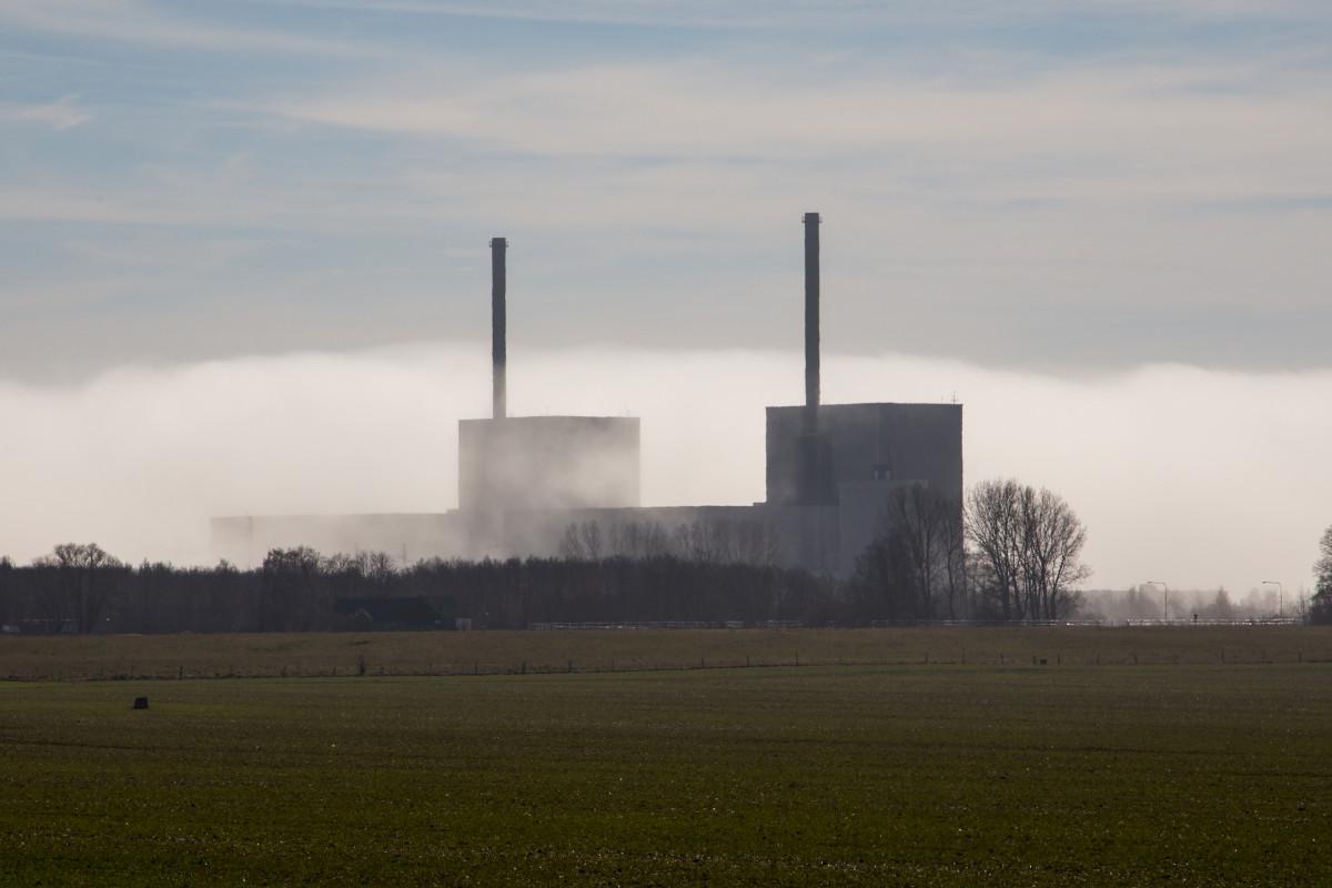 Bärsebäcksverket i dimma