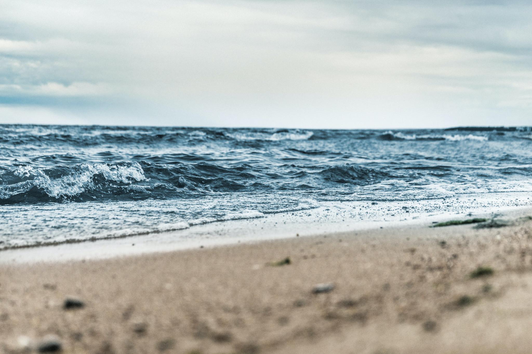 Strandkant, Östersjön.